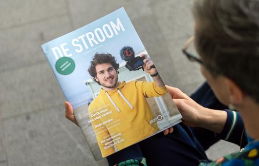 Magazine ontwerp & opmaak De Stroom