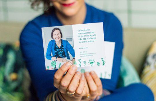 Marieke van Driel, vrouw met een missie